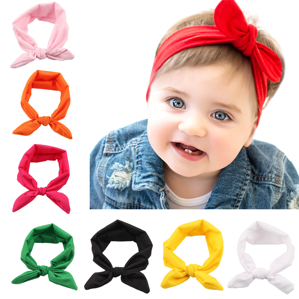 2017 latest boutique cute cheap new arrival fashion floral bowknot baby hairbands flower head band