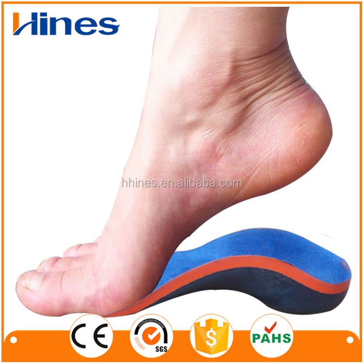 China supplier eva foot orthotics for flat foot