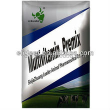 Fish feed additive vitamin mineral premix for fish to promote growing