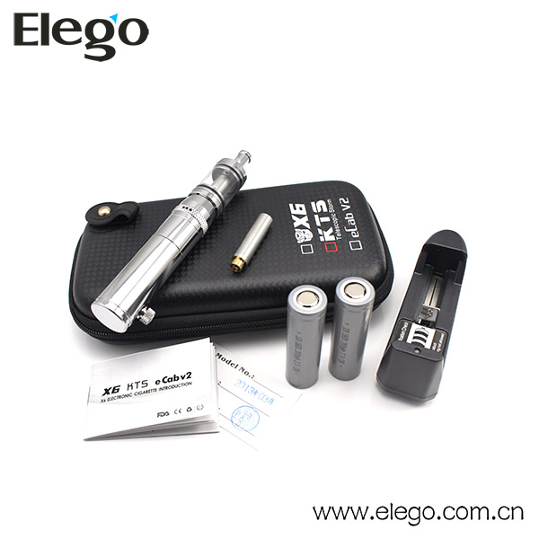 2000mAh 18650 Batteries Original KTS KTS+ Electronic Cigarette with X8 Atomizer KMR Upgraded KTS mechanical mod battery