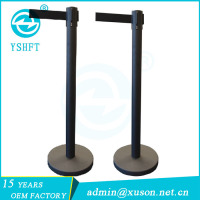 3m Event Retractable Barriers Belt Pipe Stanchion for Sale