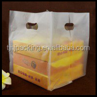 pizza white vest large plastic bag takeout bag wholesale