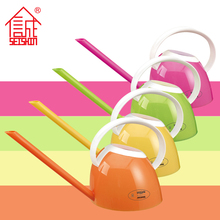2017 Hot Sale Colorful Pudding Style Plastic Mini Watering Can