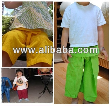 Kids Fisherman pant cotton100%,wholesale price $3.50