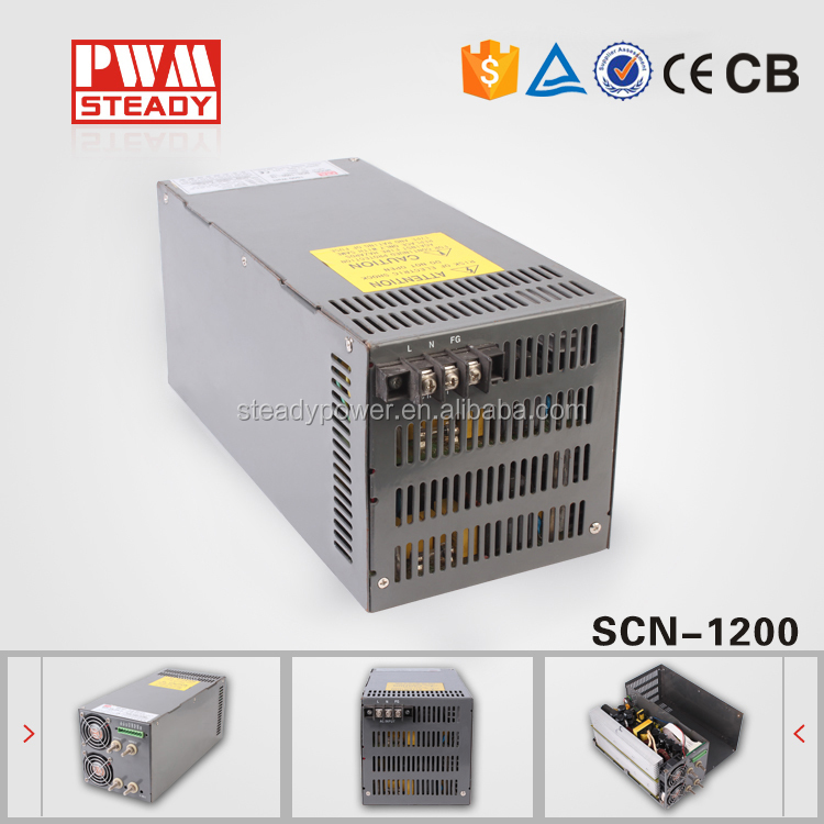 1200w switching power supply dc 12v 15v 24v 48v 100a switching power supply