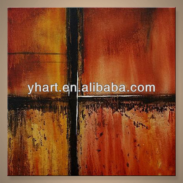 Wholesale Handmade Abstract Wall Art Fabric Painting Designs Images