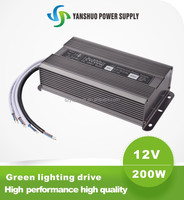 12 volt lithium ion battery 200w pc led power supply 200w for led strips