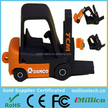 2015 Alibaba New Design Fork Truck Shaped USB, Forklift shaped USB, Forklift Truck Shaped USB For Promotional Gifts