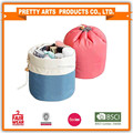 round cotton cosmetic bag with large capacity