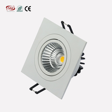 3 Years Warranty adjustable color dimming Recessed Down light 7W 9Watt Square Downlight Led