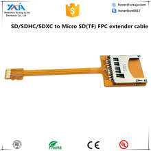 GSM CDMA Standard UIM SIM Card Kit Male to Female Extension Soft Flat FPC Cable Extender 10cm GSM CDMA Standard UIM SIM Card