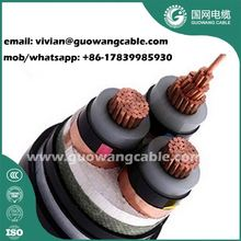 Stranded Armoured Power Cables 240mm2 XLPE/Pvc Insulated Single Core Copper Cable 15kv Cable Price Per Meter