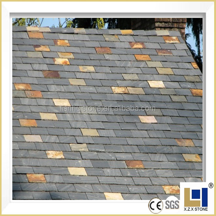 Cheap Chinese black roofing slate tiles for sale