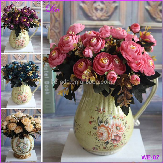 Free Shipping by DHL/FEDEX/SF Bridal Hydrangea Decor Artificial Fake Peony <strong>Flower</strong>