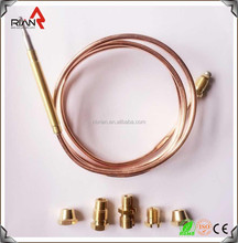 Universal gas grill thermocouple/gas oven thermocouple with repair kit