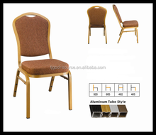 discount Whosesale iron steel aluminium banquet chair price