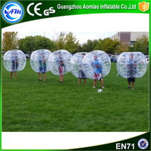 New design human sized soccer bubble ball for UK