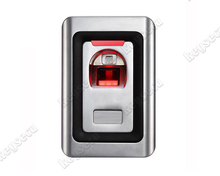 Anti Vandal Metal Structure Fingerprint Reader For Access Control