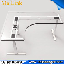 Hot Selling Manual Height Adjustable Office Desk frame ergonomic coffee table