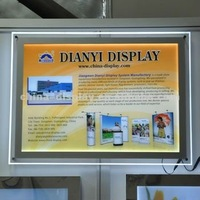 2013 New Crystal LED Light Box