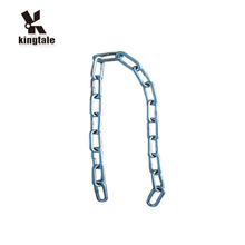 Kingtale Newest galvanized stainless steel long snow roller link chain