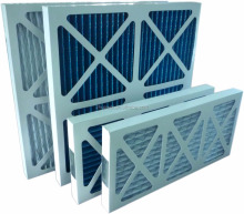 G4 paper frame air intake furnace pre pleated air filters