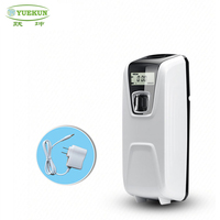 High quality plastic time-setting air freshener dispenser