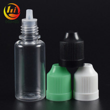 10ml pet pharmacy vial 20ml plastic containers 15ml medicated oil bottle with tip