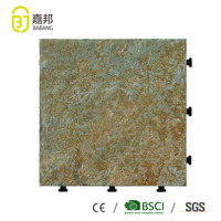 Foshan decorative outdoor swimming pool natural marble slate stone coated roof tiles flooring in cheap price for sale
