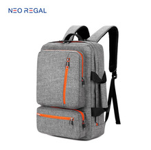 College Student Notebook Computer Backpack with Side Handle,Hot Selling Multifunctional Unisex Messenger 17 Inch Laptop Bag