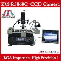 Zhuomao BGA rework station reballing kit ZM-R5860C for laptop motherboard repair With Camera monitor
