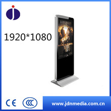 "49"" Led HD Digital Signage Display Floor Free Standing Lcd Advertising Player Display"