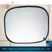 Fine quality new coming design silver car window sun shade