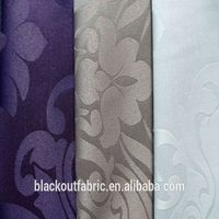 100% polyester embossed fabric for curtain