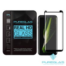 New product !!! For samsung Galaxy S8 Case Friendly tempered glass screen protector / hot bend 3D curved S8 plus tempered glass