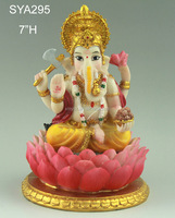 Small size hindu gods marble ganesha statue for wedding gifts