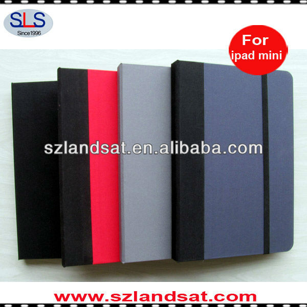 wholesale price for canvas book ipad mini case IBC23A