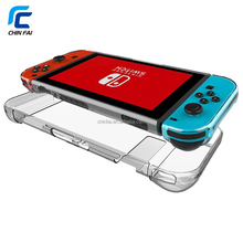 Separate Parts Scratchproof PC Hard Case Cover Skin for Nintendo Switch Console, Joy-cons