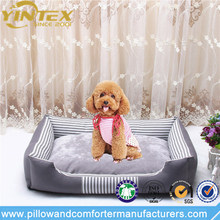 China supplier high quality pet mat raised memory foam pet dog bed