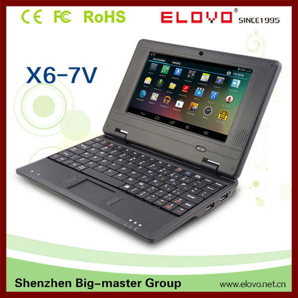 2013 newest 7 inch android 4.0 via 8850 mini laptop notebook