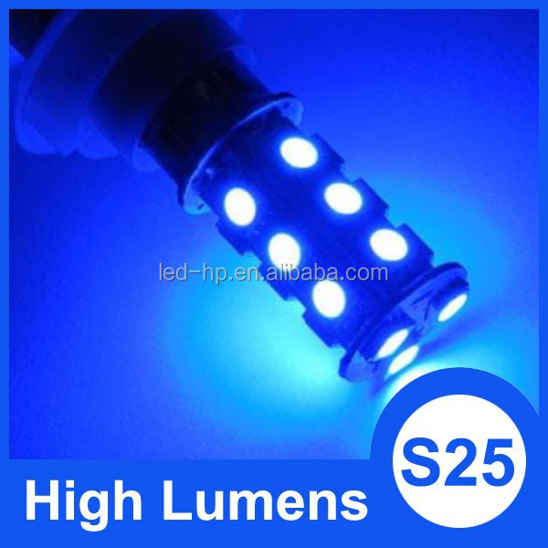 S25 1156 1157 18 SMD 5050 Red Blue car led room lamp