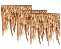 Easy installtion Artifical palm synthetic thatch roof