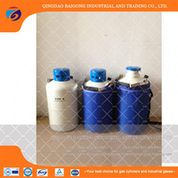China Made High Quality Small Capacity Cattle Semen Liquid Nitrogen Container