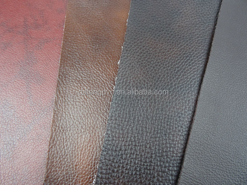 Jiangmen DaFeng Manufacturers supply soft pvc sofa leather material