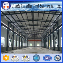 Structure steel fabrication prefab steel farm warehouse light steel portal frame