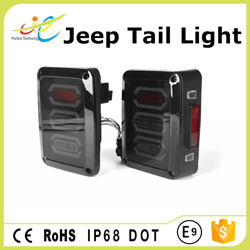 High power 12V bright led turn signal light trailer truck rear tail lamp ip68 approved