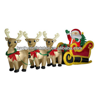 Outdoor Lighted Deer Christmas Coming Decoration