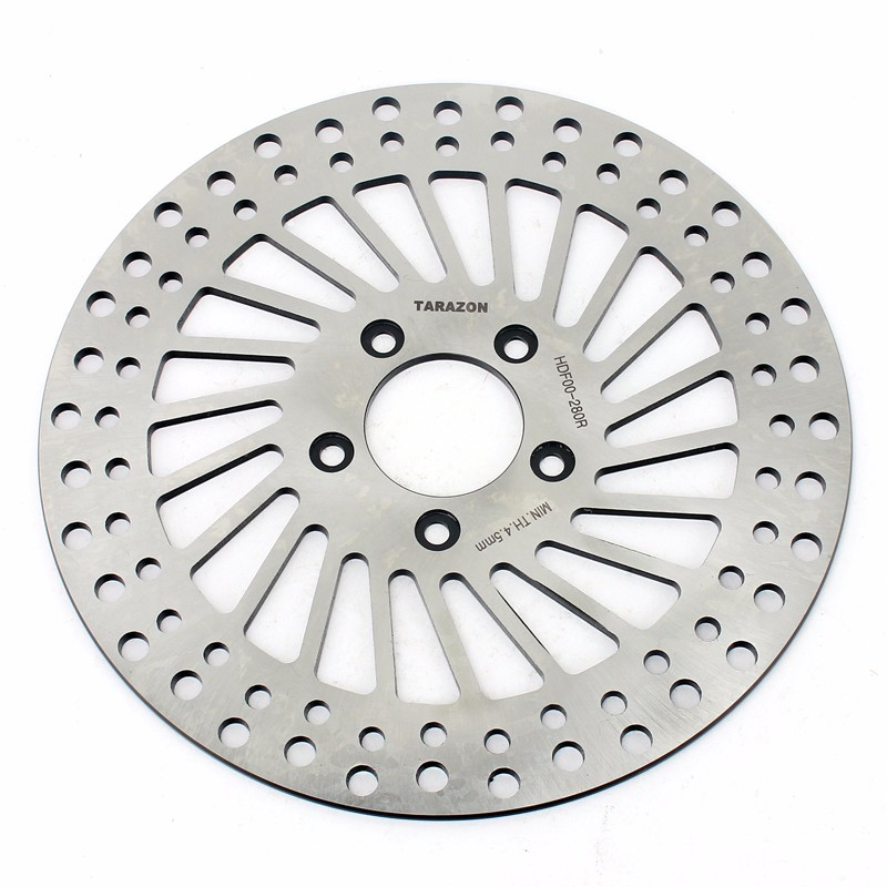 Polishing Stainless Steel Motorcycle brake disc for Harley Davidson