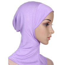 Wholesale New Style China 100% M odal Under Scarf Inner Cap Bonnet Hijab Neck Cover Soft Scarves Women Hijab 20colors