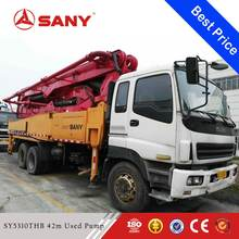 SANY SY5310THB 2009 Year Used 42m Truck Mounted Concrete Pump for Sale